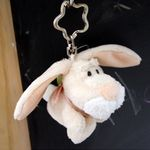 빈백키링 - 크림색 토끼