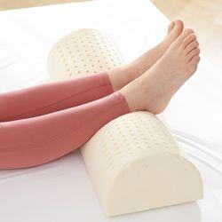 라텍스 다리 베개 발 쿠션 겉커버 포함 다리 붓기 관리