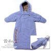 H-30013 귀여운 Cozy 고급 패딩 방한 보낭 Blue
