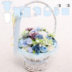 아기옷바구니 블루프리미엄(Premium)