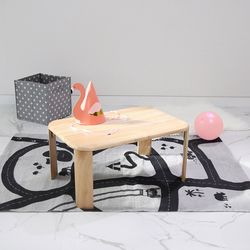 원목 접이식 브런치 테이블 大 Size