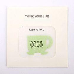 [클리어런스] YOUR LIFE CARD - tea