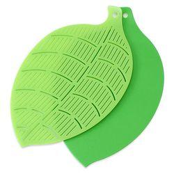 나뭇잎모양 도마(2p)