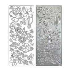 라인스티커 Silver-1722