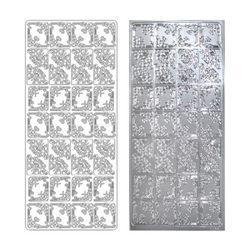라인스티커 Silver-2099