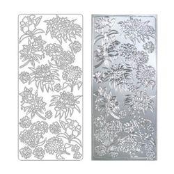 라인스티커 Silver-2149