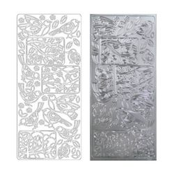 라인스티커 Silver-2509