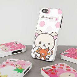 리락쿠마 미러 케이스 5종 (아이폰5)
