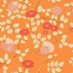 패턴벽지 우산꽃 (A형: 3폭구성)