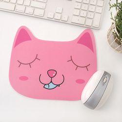 동물원 마우스패드-고양이