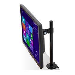 MAXTEK 책상위 공간활용 극대화하는 클램프 타입의 1단 모니터 거치대