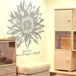 해바라기 (큰꽃1개)(반제품S) 그래픽스티커 포인트 시트지 스티커벽지
