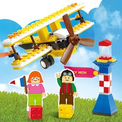 블록&페이퍼3424 경비행기