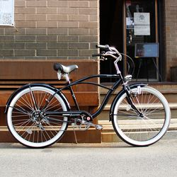 BUSKERS Classic Cruiser 26 Black Luster 클래식 [비치크루져] Shimano 6 speed 버스컬스 2013 Version