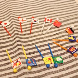 토루네 Flag pick - 일본 직수입