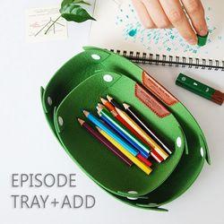 Episode Tray Add