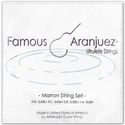 아랑훼즈 우쿠렐레스트링 Marron string set