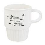 ECO CAFE MUG - a peaceful life