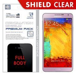 [프로텍트엠PROTECTM] 갤럭시노트3 SM-N900 레볼루션쉴드 프리미엄팩 전신보호필름+액정보호필름