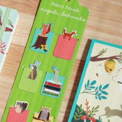 마그네틱북마크-Forrest Friends