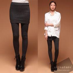 Grayism Skirt Leggings