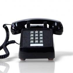 [코텔코] Made in USA 오리지널 빈티지 유선전화기 블랙