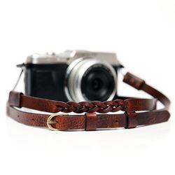 가죽 카메라스트랩 MANO-M CSS-HMM-A01 - 지아노브라운