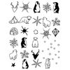 PP NAIL TATTOOS - WINTER (2sheets)