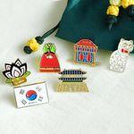 미라클코리아 한국의 상징 뱃지 6TYPE