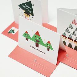 카드세트-01 크리스마스 (드링키)