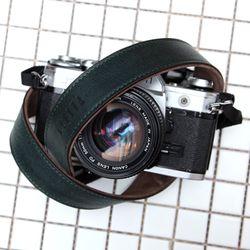 가죽 카메라스트랩 CSS-L30 - 지아노 다크그린