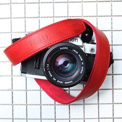 가죽 카메라스트랩 CSS-L30 - 지아노 레드