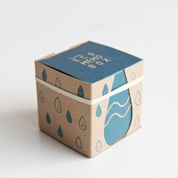 ECO MEMO BOX - water