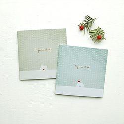 Noel card (2ea)