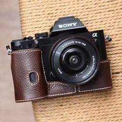Sony A7A7r 속사케이스- 다크브라운 (소니 A7A7r 겸용)