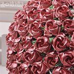 종이장미접기 100송이 꽃다발만들기 레드