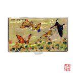 [남계우] 화접도 - 토끼풀과 나비 자개 휴대명함집