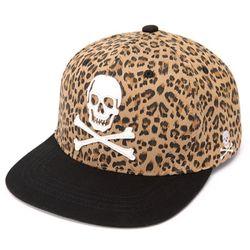 PIRATE SKULL SNAPBACK CAP (GOLDEN YELLOW)