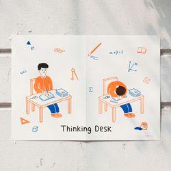 [클리어런스] YOUR POSTER - desk