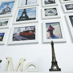 WOOD 포토프레임 12P 세트+사진포함(유럽편)