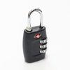 TSA 3다이얼 안전자물쇠 - 블랙