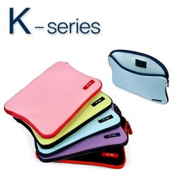 [아이루] 아이패드1 2 3 4 에어 갤럭시노트10.1 탭10.1 수납 가능  10인치 태블릿 컬러 파우치 K10 (5컬러)