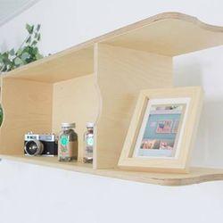fm0035 - 벽걸이 벽선반 [자작나무 원목 인테리어벽선반] 펀펀가구