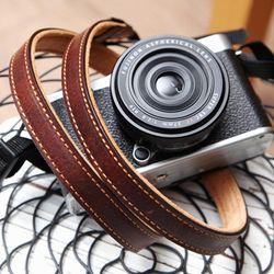 가죽 카메라스트랩 CSS-L15-지아노브라운