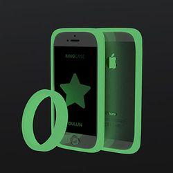 어울린 링케이스 for iPhone 5. 5s 루미노스 그린
