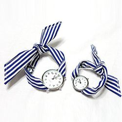 KNOT WATCH - STRIPE NAVY