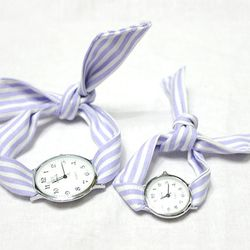 KNOT WATCH - STRIPE PURPLE