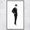Male Fashion Figure by Andy Warhol