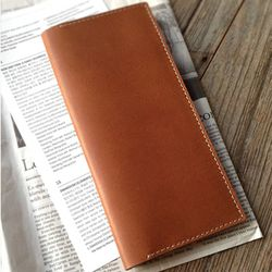 Passport Folder. Deluxe [India Camel]