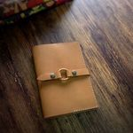 Note Cover. Wood Ring A6 [Arabia Sand]
